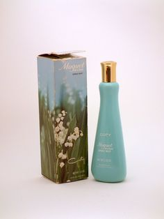 Muguet Des Bois Lily of the Valley perfume. This was my first perfume given me when I turned 13 yrs old.