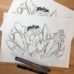 Graffiti Caps, Graffiti Piece, Graffiti Cartoons, Best Graffiti, Graffiti Tagging, Graffiti Artwork, Graffiti Characters, Graffiti Alphabet, Graffiti Styles