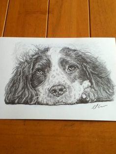 A5 size,drawn in graphite pencil.