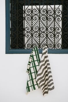 The new A/W design tea towels from House of Rym, designed by Emma von Bromssen are printed by hand.  Now at Northlight