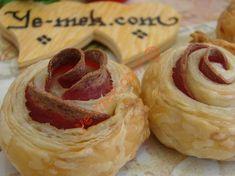 Salamlı Milföy Gülleri Tarifi (Resimli Anlatım)   Kolay ve Pratik Resimli Yemek Tarifleri   Göbeğim
