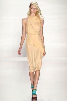 J. Mendel Spring 2012 - Love this dress! It is so delicate!