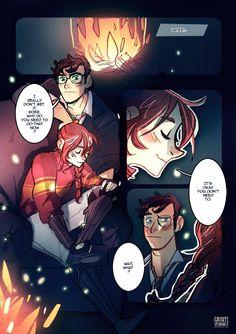 Amortentia, a Scorpius / Rose comic : page V / VI