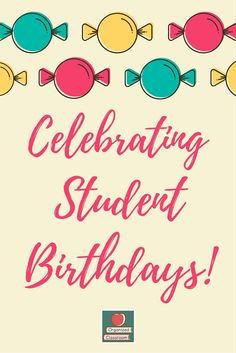 Need more great ideas for what to give students or do that will make their… Teacher Freebies, Classroom Freebies, School Classroom, Classroom Ideas, Birthday Songs, Singing Happy Birthday, 15th Birthday, Student Birthdays, Student Gifts
