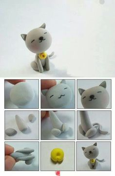 Fondant cat inspiration (image only)