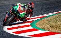 Indir duvar kağıdı Sam Lowes, motosiklet yarışçısı, receway, MotoGP, Aprilia Yarış Takımı