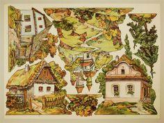 11. 12. 13. 14. 15. 16. [Setzstücke Dorf und Landschaft  Münzberg, Antonín