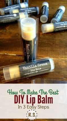 A super easy lip balm recipe you will love. This DIY lip balm is healing, homemade & the best. You will love the simplicity of the recipe and the soothing feel on your lips. Add in some essential oils for even more fun. :-)