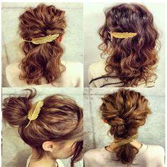 1.25AUD - Women's Fashion Leaf Feather Hair Clip Barrette Bobby Pin Hair Accessories #ebay #Fashion