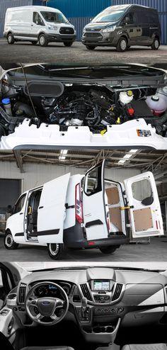 Why Ford Transit Custom Van is Economical Than the Other Rivals? Transit Custom, Custom Vans, Ford Transit, Commercial Vehicle, Caravan, Camper, Size 2, Engineering, Bike