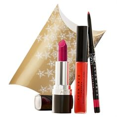 Avon True Colour Red Lip Set. Available in 4 shades: Pink, Red and Nude and Plum. Buy direct https://www.avon.uk.com/store/YOURPERFUMEANDPAMPERSTORE