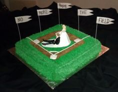 grooms cakes | Baseball Grooms Cake | Cakes By Erika