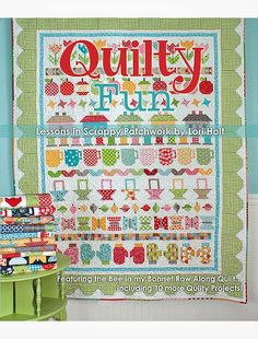Bee In My Bonnet: Quilty Fun is Here!!!...