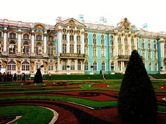 Favorite retreat of the last Royal Family of Russia: Great Catherine Palace, Tsarskoe Selo, Russia