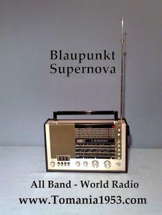 Blaupunkt Supernova World Band Receiver TOMANIA Radio World World Radio, All Band, Marshall Speaker
