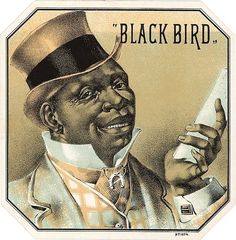 Black Bird Cigar Label