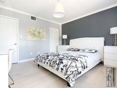 Renovation of a apartment located in the Art Deco distinctive district of Miami Beach. Bedroom.