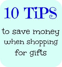 10 Tips To Save Money On Gifts @Blindbid Services