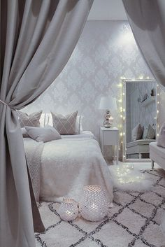 Home Decorating Ideas Bedroom Dream Bedroom, Home Bedroom, Bedroom Decor, Bedroom Ideas, Trendy Bedroom, My New Room, Beautiful Bedrooms, House Rooms, Room Inspiration