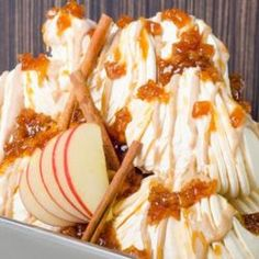 Apple Pie Biscotti Gelato // Fuel your passion with more recipes at www.pregelre… Apple Pie Biscotti Gelato // Fuel your passion with more recipes at www. Sorbet, Gelato, Freeze, Biscotti, Mousse, Brownies, Bacon Crisps, Dessert Crepes, Cheesecake