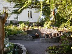 Løvli, livet på landet.: Måneskinnshagen og woodlandet Patio, Outdoor Decor, Garden, Plants, Pictures, Home Decor, Photos, Homemade Home Decor, Yard