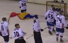 Romanian athlete hocheistii cursed and hit the Hungarians for flag waving on the ground (VIDEO) Romani, Athlete, Places To Visit, Flag, Waves, Sport, Science, Sports, Places Worth Visiting