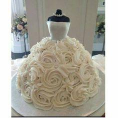 BIRDE'S WEDDING CAKE