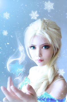 ✧ #characterconcepts ✧ #CosplayCharacters Elsa!
