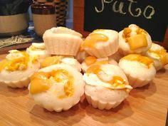 Puto (With egg whites only) Puto Recipe, Vegetarian Eggs, Cooking Videos, Egg Whites, Food Print, Baking, Desserts, Recipes, Foodies