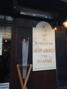 (11) Hommage républicain au Café du Croissant / Commémoration du centenaire de la mort de Jean Jaurès par le président de la République François Hollande / 31 juillet 2014 https://www.facebook.com/media/set/?set=a.1519862531580231.1073741846.1429147543985064&type=3