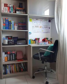 Home Office Decorating Ideas For A Functional Space – HomeDecorously Home Room Design, Home Office Design, Home Office Decor, Home Decor, Study Room Decor, Room Ideas Bedroom, Bedroom Decor, Aesthetic Room Decor, Cozy Room