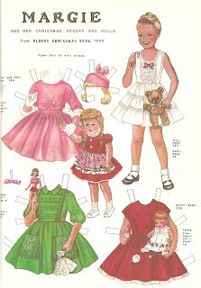 Miss Missy Paper Dolls: Christmas in July- the Annual Paper doll Convention