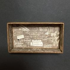 Paste the paper just like this and make a hole for 18 valve spring winding music box