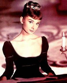 """Audrey Hepburn en """"Guerra y Paz"""", 1956"""