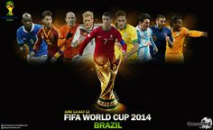 The most awaited sporting tournament, FIFA World Cup, is about to start from 12 June. These are two exclusive pictures for the fans of football and FIFA World Cup. Fifa World Cup Teams, Fifa World Cup 2014, Brazil World Cup, Soccer World, Fifa Football, Football Players, Lionel Messi, Brazil Wallpaper, Hd Wallpaper