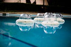 Floating wreath DIY via Nancy Liu Chin (Diy Wreath Products) Pool Wedding, Diy Wedding, Wedding Flowers, Wedding Ideas, Prom Flowers, Garden Wedding, Dream Wedding, Floating Flowers, Floating Candles