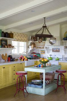 Interiors With Large Doses of Color and a Lack of Orthodoxy