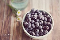 Blueberries 8x10 print от McClainCreations на Etsy