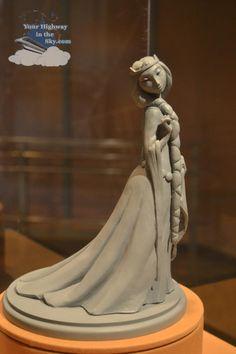 Brave - concept Queen Elinor sculpture