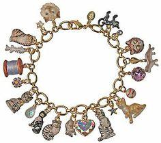 Kirks Folly Best in Show Cat Charm Bracelet