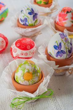 Easter decoupage