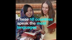 These 10 countries speak the most languages