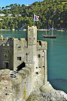 Dartmouth Castle, Dartmouth, Devon, England First mentioned in 1192 built to defend the mouth of the harbour at Darmouth Visit Devon, Devon Uk, Devon And Cornwall, Cornwall England, Yorkshire England, Devon England, South Devon, Oxford England, Yorkshire Dales