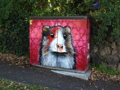 Paul Walsh, 'Piggy Stardust'  corner of View Rd and Wyndham Rd, Mt Eden, Nw. Zealand