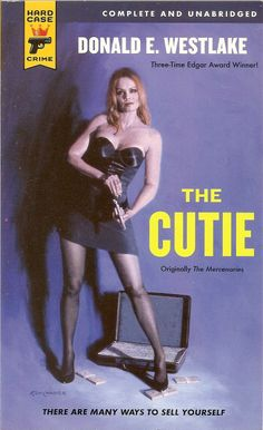The Cutie - Donald E. Westlake, cover by Ken Laager