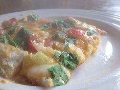 Voedselzandloper lunch: Frittata met tomaat en basilicum