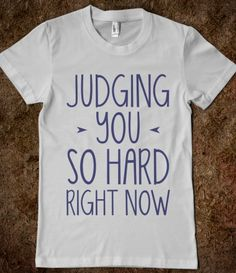 Judging You So Hard @Lauren Howard @Russa Boyd