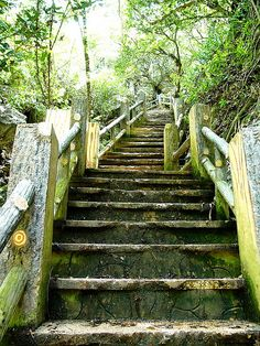 Stairs to The Grotto, Saipan CNMI