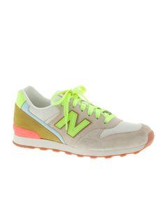 Neon New Balance 696 Sneakers