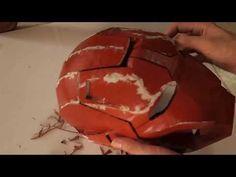 Dali-Lomo: Iron Man Mark 42 Costume Helmet DIY - Cardboard build with template